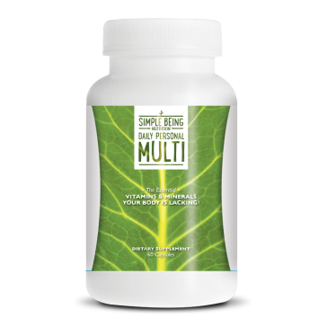 Simple Being Daily Personal Multi   Bulu Box - sample superior vitamins and supplements