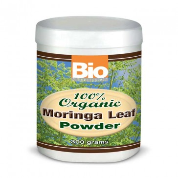 Bio Nutrition 300 gm 100%% Moringa Powder | Bulu Box - sample superior vitamins and supplements