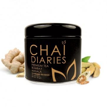 Chai Diaries Organic Bombay Masala Tea  | Bulu Box - Sample Superior Vitamins and Supplements