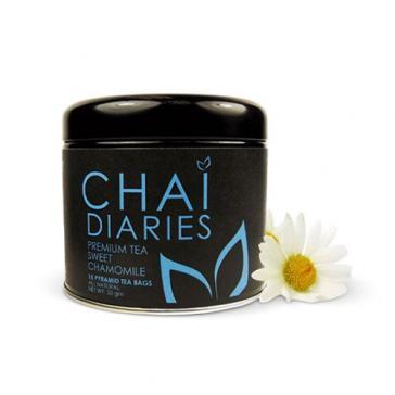 Chai Diaries Sweet Chamomile Caffeine Free Tea  | Bulu Box - Sample Superior Vitamins and Supplements