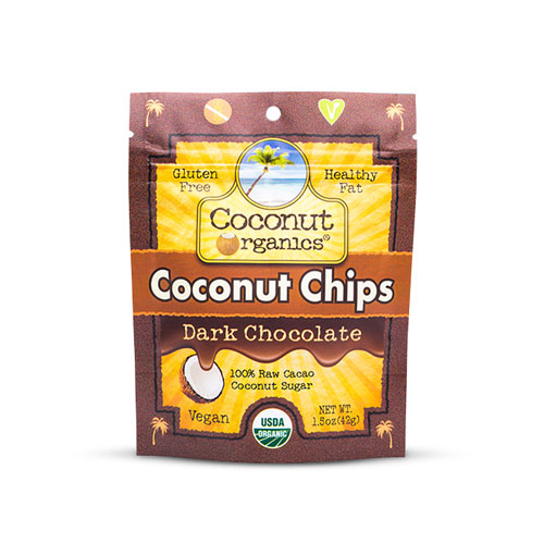 Coconut Organics Coconut Dark Chocolate | Bulu Box - Sample Superior Vitamins and Supplements