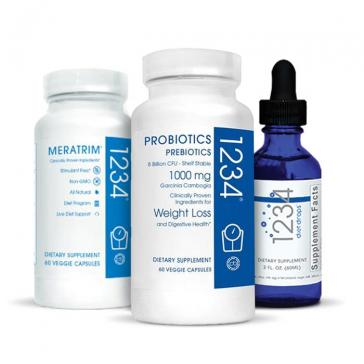 Creative Bioscience 1234 Diet Bundle | Bulu Box Sample Superior Vitamins and Supplements