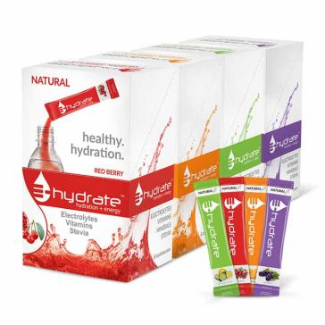 E–Hydrate Hydration + Energy Drink Mix   Bulu Box - sample superior vitamins and supplements