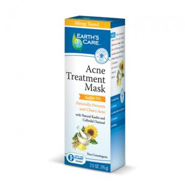 Earth's Care Acne Treatment Mask | Bulu Box - sample superior vitamins and supplements