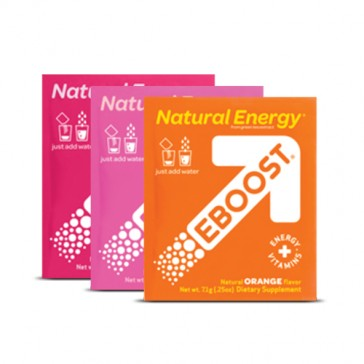 EBOOST Natural Energy Packets   Bulu Box - Sample Superior Vitamins and Supplements