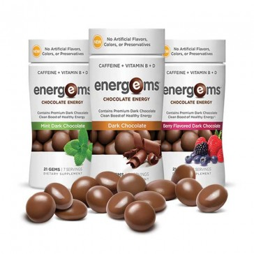 Energems Chocolate Energy | Bulu Box - sample superior vitamins and supplements