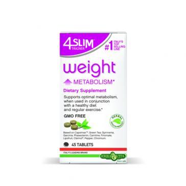 Erba Vita 4 Slim Trainer Weight Metabolism | Bulu Box - sample superior vitamins and supplements