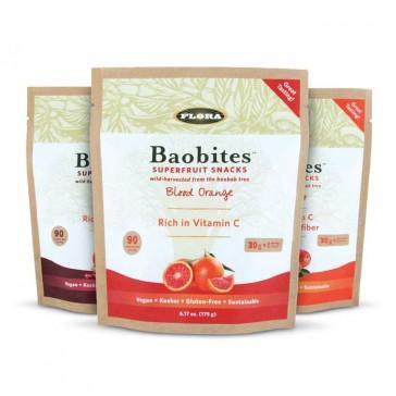 Flora Baobites Superfruit Chews Trio |  Bulu Box - sample superior vitamins and supplements
