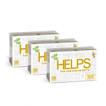 Helps Tea For Low-Sugar Diets | Bulu Box - sample superior vitamins and supplements