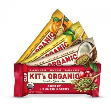Clif Bar - Kit's Organic Fruit + Seed Bar   Bulu Box - Sample Superior Vitamins and Supplements