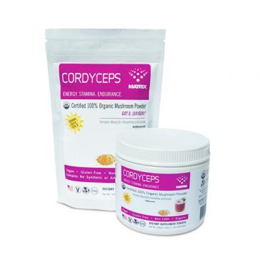 Mushroom Matrix Cordyceps    Bulu Box sample superior vitamins and supplements