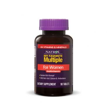 Natrol My Favorite Multiple For Women | Bulu Box - sample superior vitamins and supplements