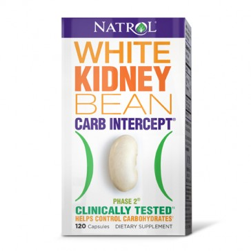 Natrol White Kidney Bean Phase 2 Carb Intercept | Bulu Box - sample superior vitamins and supplements