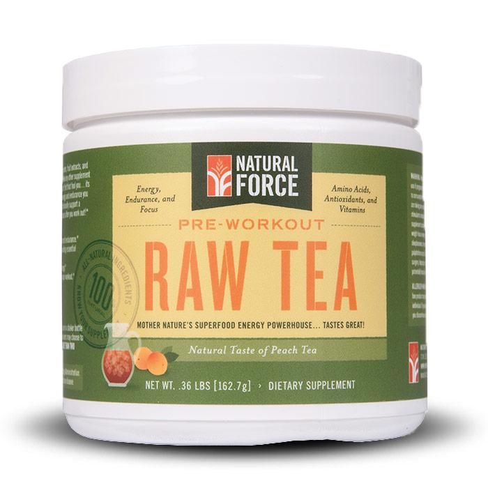 Natural Force Raw Tea   Bulu Box Sample Superior Vitamins and Supplements