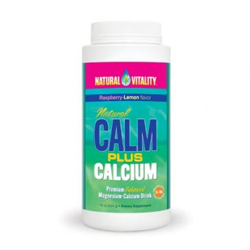 Natural Vitality Calm Plus Calcium 16oz | Bulu Box - sample superior vitamins and supplements
