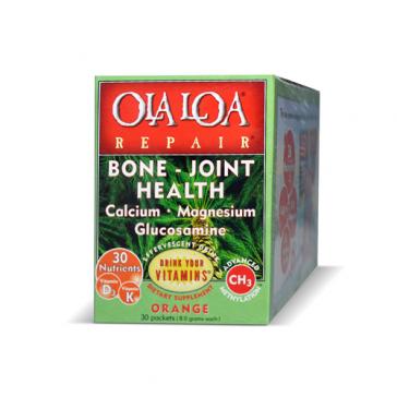 Ola Loa- Bone / Joint Repair, Orange   Bulu Box - sample superior vitamins and supplements