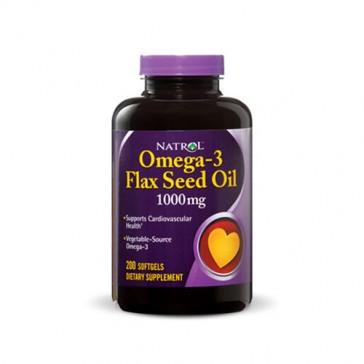 Natrol Omega-3 Flax Seed Oil   Bulu Box - sample superior vitamins and supplements