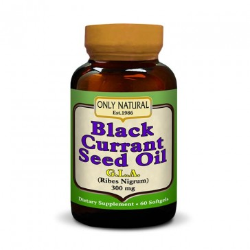 Only Natural - Black Currant Seed Oil | Bulu Box - sample superior vitamins and supplements