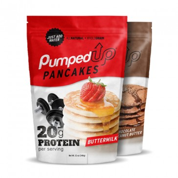 Pumped Up Pancakes | Bulu Box - Sample Superior Vitamins and Supplements