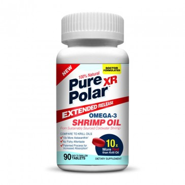 Pure Polar Omega-3 Shrimp Oil - Extended Release | Bulu Box - Sample Superior Vitamins and Supplements