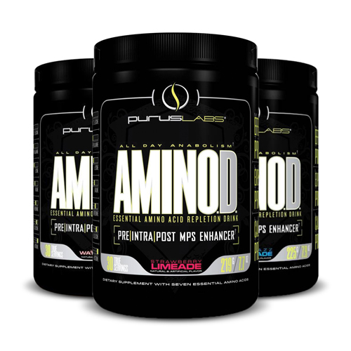 Purus Labs AminOD Jolly Watermelon Strawberry Limeade Blue Razz Lemonade | Bulu Box - sample superior vitamins and supplements