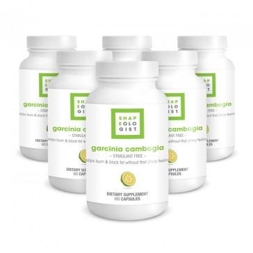 Shapeologist Garcinia Cambogia - 6 Month Supply | Bulu Box - Sample Superior Vitamins and Supplements