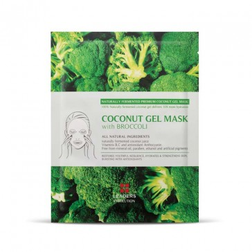 Leaders Cosmetics Coconut Gel Mask with Broccoli | Bulu Box Sample Superior Vitamins and Supplements