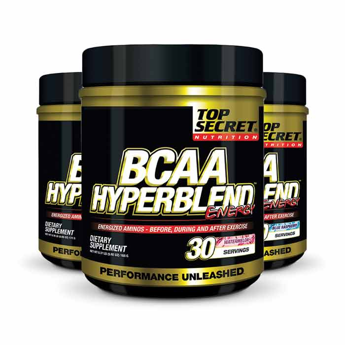 Top Secret Nutrition BCAA Hyperblend Energy | Bulu Box - sample superior nutrition & weight loss products