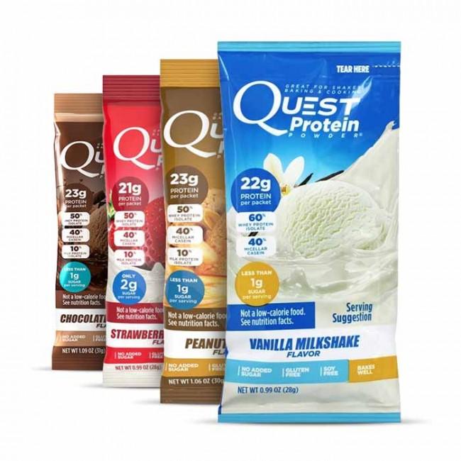 Quest Nutrition Protein Powder Packets | Bulu Box
