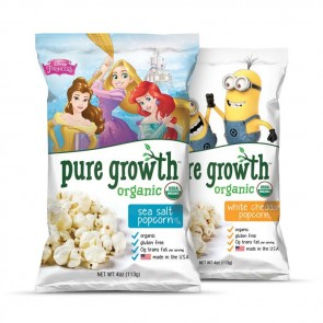 Pure Growth Organic Popcorn-Popcorn Multipack Frozen-12 pack | Bulu Box - sample superior vitamins and supplements