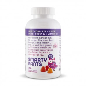 Smarty Pants All-in-One Adult Complete + Fiber Gummy Multivitamin |Bulu Box - sample superior vitamins and supplements