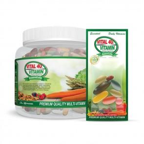 Vital 4U Vitamin Essentials | Bulu Box - Sample superior vitamins and supplements