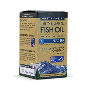Wiley's Finest Wild Alaskan Fish Oil Peak EPA | Bulu Box - sample superior vitamins and supplements