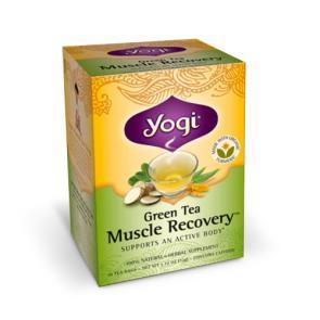 Yogi Green Tea Muscle Recovery | Bulu Box - sample superior vitamins and supplements