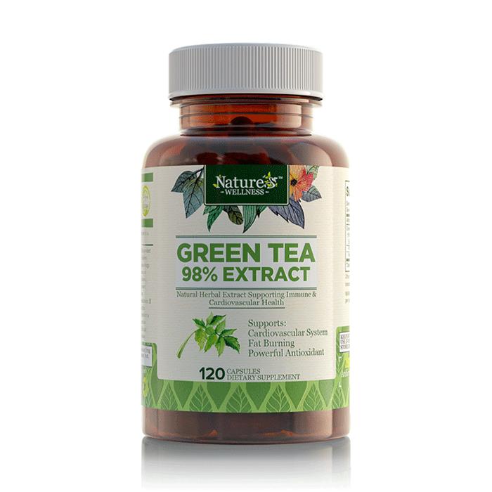 Green tea catechins supplement